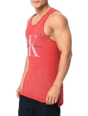 Regata-Calvin-Klein-Jeans-Logo-Ck-Vermelho