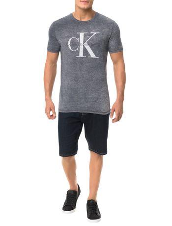 Camiseta-Calvin-Klein-Jeans-Logo-CK-Grafite
