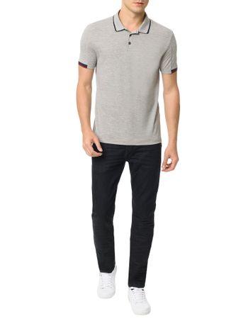 Polo-Calvin-Klein-Jeans-Recortes-Mangas-Mescla