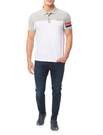 Polo-Calvin-Klein-Jeans-Faixas-Mangas-Ny-Mescla