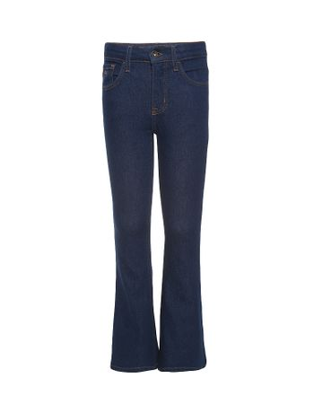 Calca-Jeans-Infantil-Calvin-Klein-Jeans-Five-Pockets-Flare-High-Azul-Medio