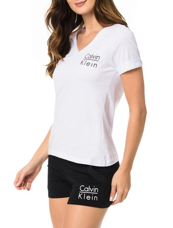 Camiseta-Calvin-Klein-Underwear-De-Meia-Malha-Branco