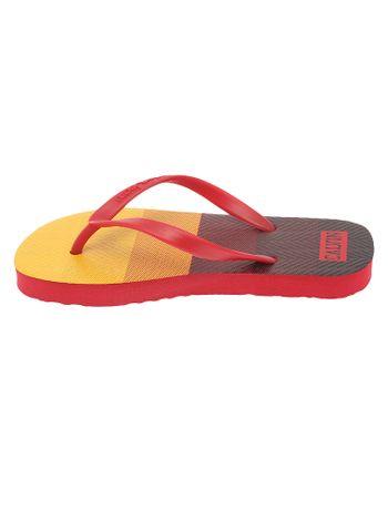 Chinelo-Infantil-Calvin-Klein-Jeans-Estampa-Quadrados-Vermelho