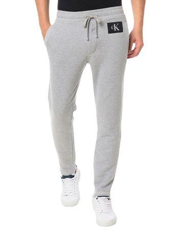 Calca-Calvin-Klein-Jeans-Moletom-Estampa-Etiqueta-Ck-Mescla