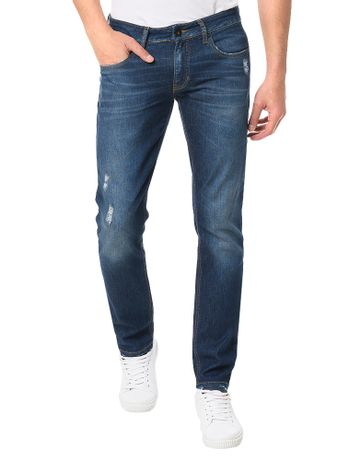 Calca-Calvin-Klein-Jeans-5-Pockets-Skinny-Azul-Marinho