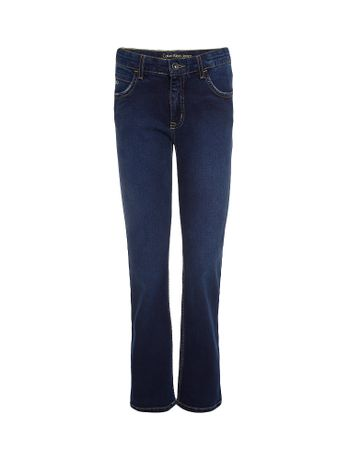 Calca-Jeans-Infantil-Calvin-Klein-Jeans-Five-Pockets-Straight-Marinho