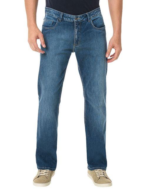 Calça Jeans Calvin Klein Straight Média Azul Médio