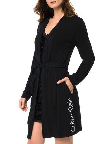 Robe-Calvin-Klein-Underwear-De-Visco-Preto