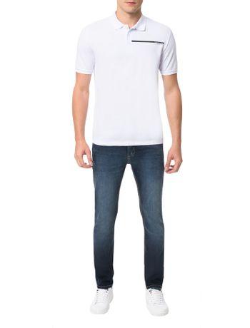Polo-Calvin-Klein-Jeans-Logo-Palito-Branco