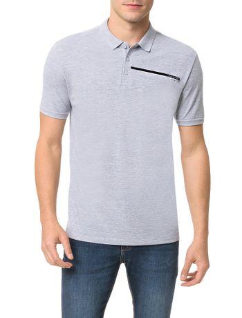 Polo-Calvin-Klein-Jeans-Logo-Palito-Mescla