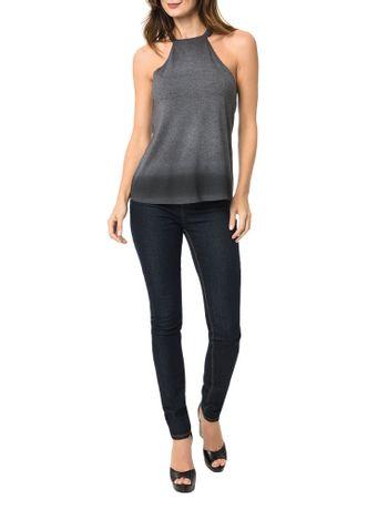 Blusa-Calvin-Klein-Jeans-Com-Estampa-Degrade-Preto