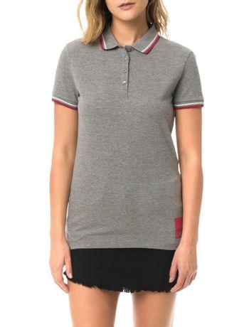 Polo-Calvin-Klein-Jeans-Com-Logo-Na-Barra-e-1978-Costas-Mescla