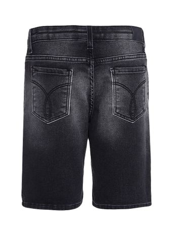 Bermuda-Jeans-Infantil-Calvin-Klein-Jeans-Five-Pockets-Preto