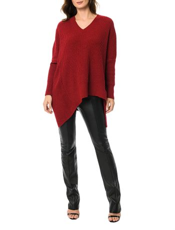 Pullover-Tricot-Calvin-Klein-Vermelho-Escuro