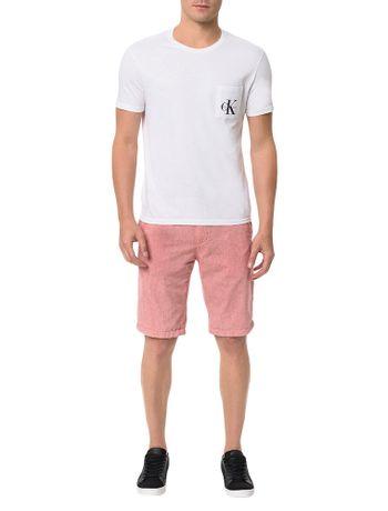 Bermuda-Color-Calvin-Klein-Jeans-Five-Pockets-Vermelho