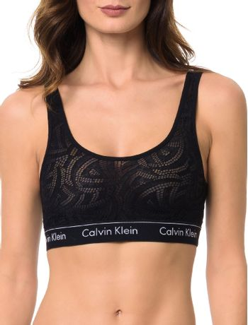 Sutia-Top-De-Renda-Calvin-Klein-Underwear-Modern-Cotton-Lace-Preto