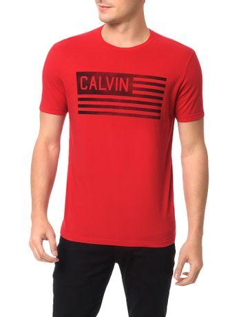 Camiseta-Calvin-Klein-Jeans-Estampa-Bandeira-Usa-Vermelho