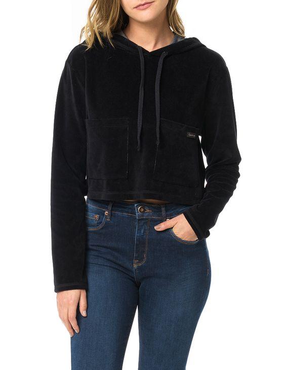 Casaco-Calvin-Klein-Jeans-Com-Bolsos-Frontais-Preto
