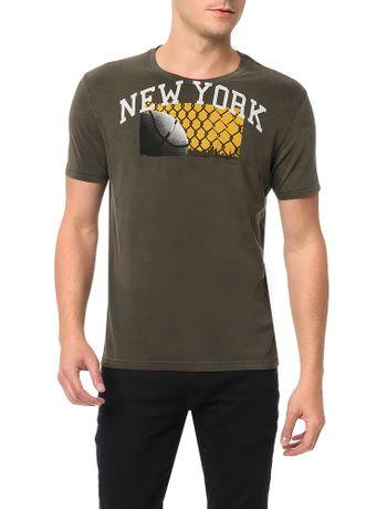Camiseta-Calvin-Klein-Jeans-Estampa-Desgastada-Militar