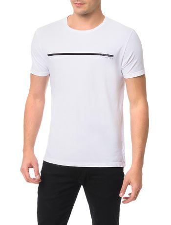 Camiseta-Calvin-Klein-Jeans-Estampa-Logo-Palito-Branco