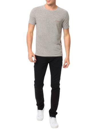 Camiseta-Calvin-Klein-Jeans-Estampa-Logo-Institucional-Mescla