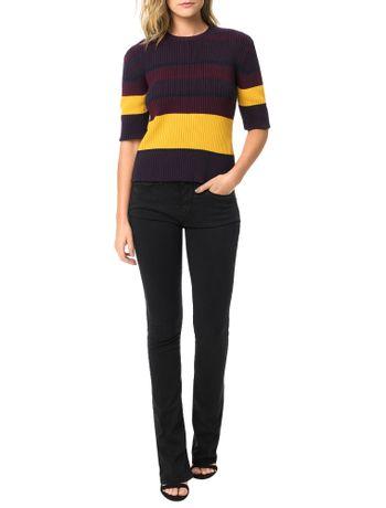 Tricot-Calvin-Klein-Jeans-Listrado-Marinho