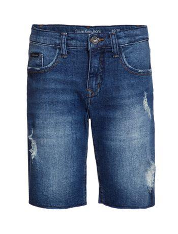 Bermuda-Jeans-Infantil-Calvin-Klein-Jeans-Five-Pockets-Azul-Medio