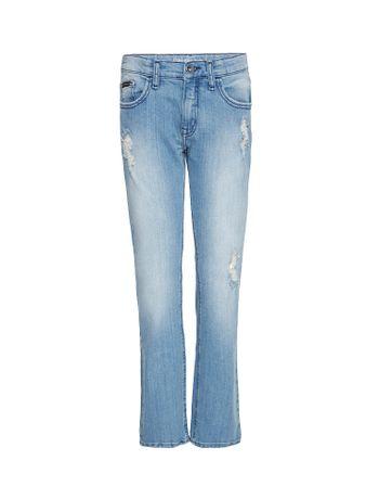 Calca-Jeans-Infantil-Calvin-Klein-Jeans-Five-Pockets-Skinny-Azul-Claro