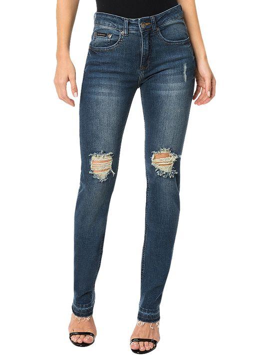 Calca-Calvin-Klein-Jeans-Five-Pockets-Skinny-High-Azul-Marinho
