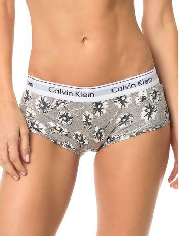 Calcinha-Short-Modern-Calvin-Klein-Underwear-Cotton-Floral-Mescla