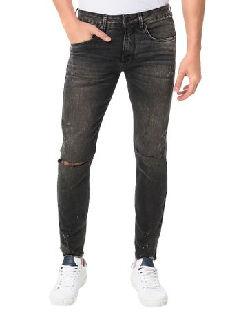 Calca-Calvin-Klein-Jeans-Five-Pockets-Super-Skinny-Preta
