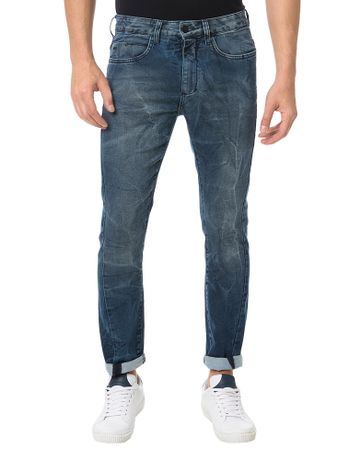 Calca-Calvin-Klein-Jeans-Five-Pockets-Slouchy-Skinny-Marinho