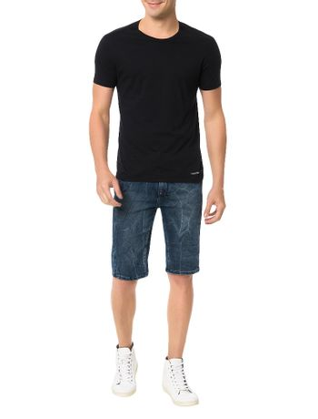 Bermuda-Calvin-Klein-Jeans-Five-Pockets-Slouchy-Marinho