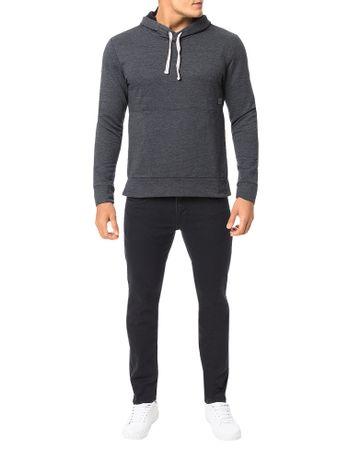 Casaco-Calvin-Klein-Jeans-Capuz-Ziper-Lateral-Mescla