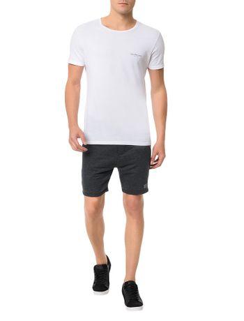 Bermuda-Calvin-Klein-Jeans-Ziper-Lateral-Mescla