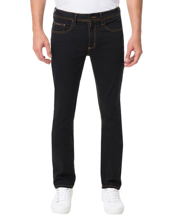 Calca-Calvin-Klein-Jeans-5-Pockets-Slim-Straight-Preto