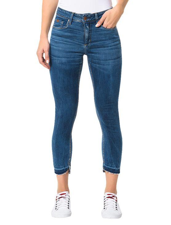 Calca-Calvin-Klein-Jeans-Five-Pockets-Jegging-High-Azul-Medio