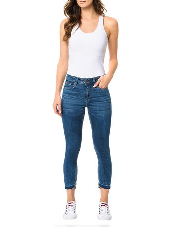 Calca-Calvin-Klein-Jeans-Five-Pockets-Jegging-High-Azul-Medio