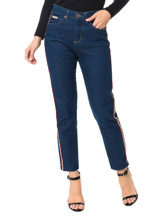 Calca-Calvin-Klein-Jeans-Five-Pockets-Mom-Azul-Medio