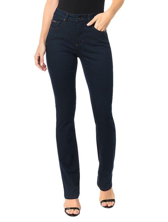 Calca-Calvin-Klein-Jeans-Five-Pockets-Straight-High-Azul-Marinho