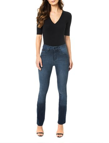 Calca-Calvin-Klein-Jeans-5-Pockets-Straight-High-Marinho