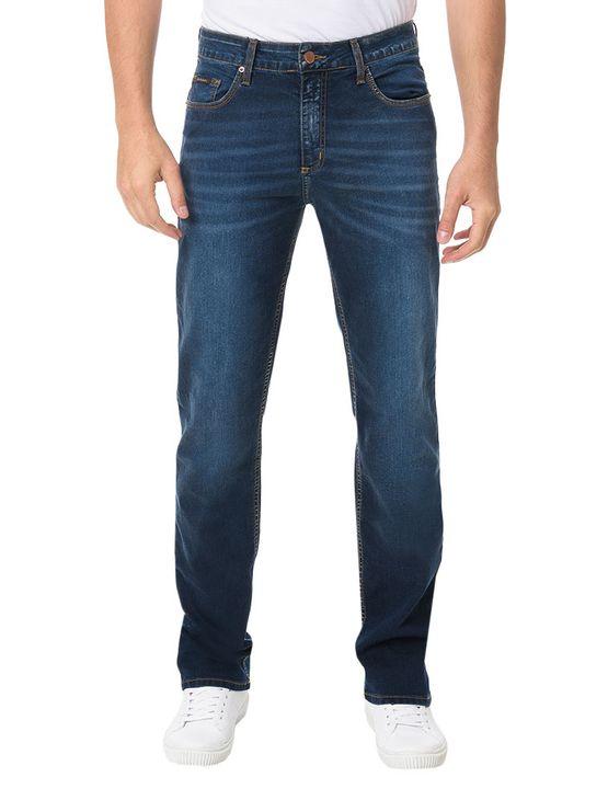 Calca-Calvin-Klein-Jeans-5-Pockets-Straight-Azul-Medio