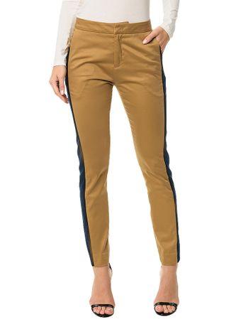 370c762c4 Calça Calvin Klein Listra Lateral Areia - Calvin Klein
