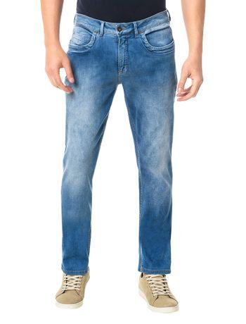 Calca-Jeans-Calvin-Klein-Slim-Straight-Azul-Claro