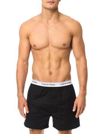 Cueca-Samba-Cancao-De-Tricoline-Calvin-Klein-Underwear-Preto
