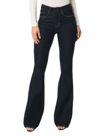 Calca-Calvin-Klein-Jeans-Five-Pockets-Flare-High-Blue-Black