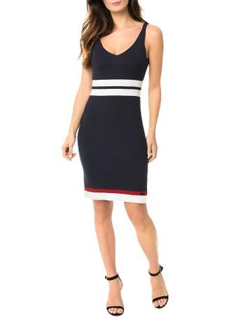 Vestido-Calvin-Klein-Jeans-Detalhe-Faixa-Marinho