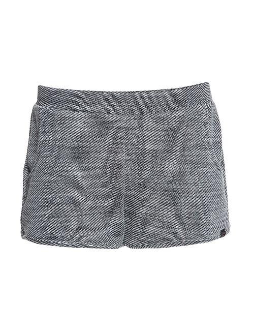 Shorts Infantil Calvin Klein Jeans Bolso Frente Preto