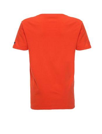 Camiseta-Infantil-Calvin-Klein-Jeans-Estampa-1978-Laranja
