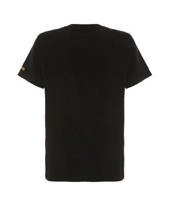 Camiseta-Infantil-Calvin-Klein-Jeans-Estampa-1978-Preto